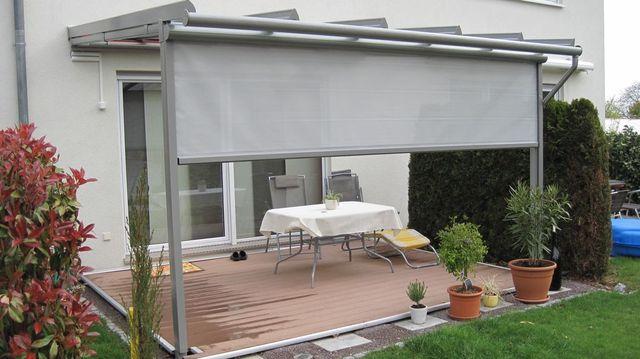 Vordach Terrasse Kosten : Beispielobjekte D u00e4chert Kunststoffe